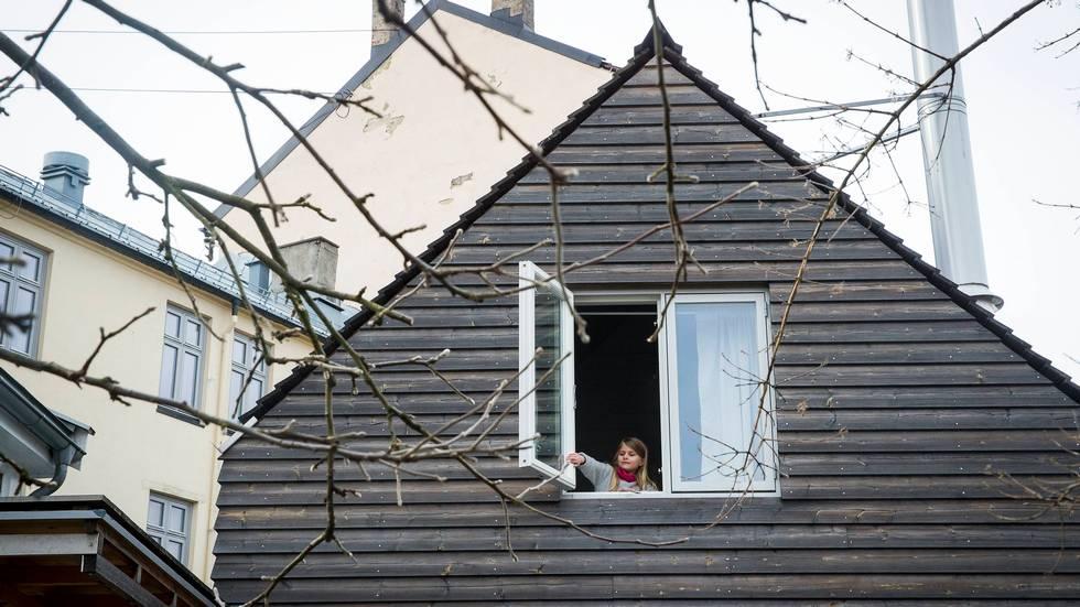 To hus i ett: bygde 60 kvadratmeter tilbygg   bergens tidende